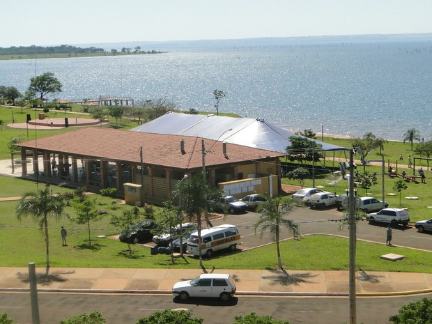 Área de lazer recebe até 2 mil visitantes aos finais de semana (Foto: Prefitura de Anaurilândia/Divulgação)