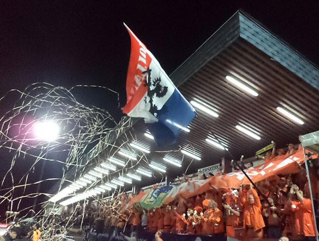 Holanda x Andorra torcida (Foto: Marcos Felipe)