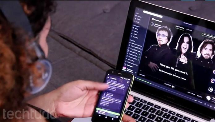 Spotify pode ganhar suporte para streaming via Chromecast ainda este mês (Foto: Lucas Mendes/TechTudo)