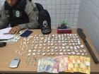 Polícia apreende drogas e quantia em dinheiro em João Pessoa