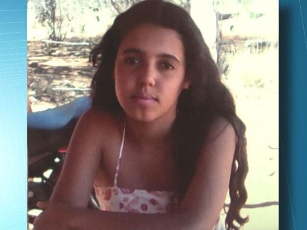 Paula Cristina tinha 14 anos (Foto: Reprodução / TV Sudoeste)