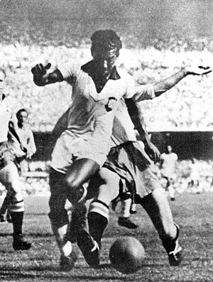 Copa do Mundo 1950 - Zizinho (Foto: Agência AFP )