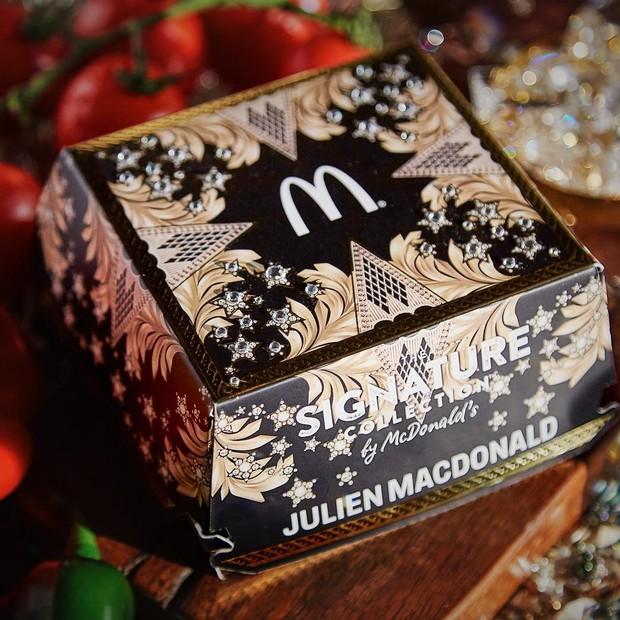 Caixa de hambúrguer (Foto: Reprodução/Instagram)