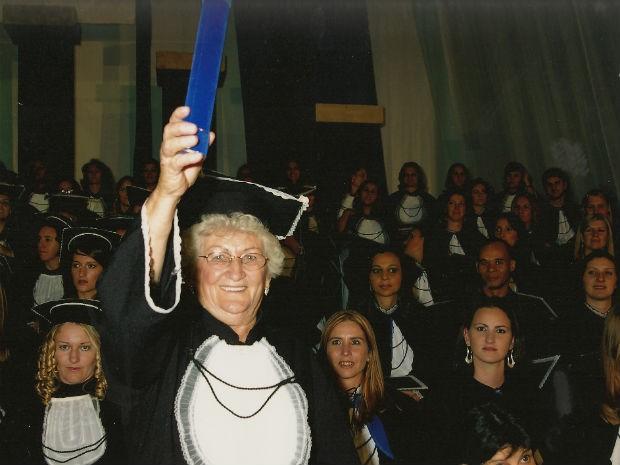 Avó universitária (Foto: Arquivo Pessoal)
