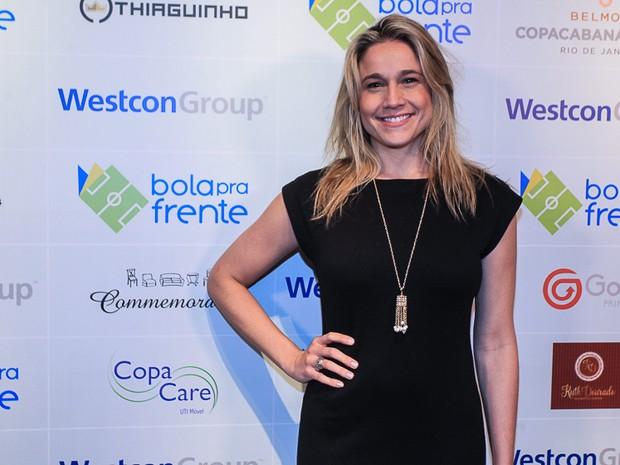 Fernanda Gentil em evento na Zona Sul do Rio (Foto: Marcello Sá Barretto/ Ag. News)