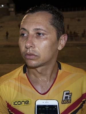 Vavá, atacante do Paraíba de Cajazeiras (Foto: Silas Batista / GloboEsporte.com)