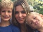 Fernanda Lima explica como ensina os filhos a lidar com a fama e paparazzi