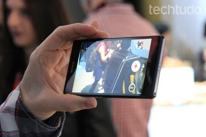 A câmera do Z2 é mais eficiente (Foto: Isadora Díaz/TechTudo)