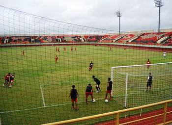Treino Rio Branco-AC Sub-20 (Foto: Duaine Rodrigues)