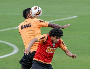 Luan; Atlético-MG; treino; Cidade do Galo (Foto: Bruno Cantini / Site Oficial do Atlético-MG)