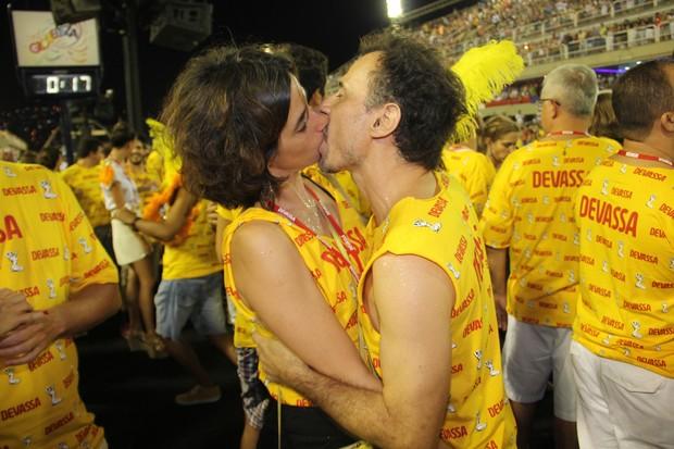 Mariana Lima e Enrique Diaz (Foto: Cleomir Tavares)
