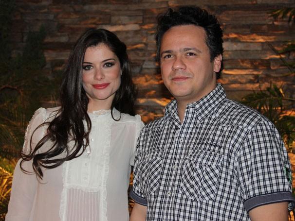 Danton Melo e Alinne Moraes (Foto: TV Globo / Vanessa Thees)