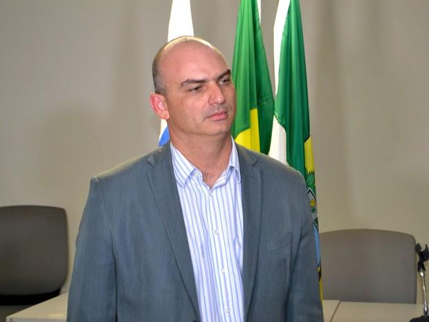 Caio Bezerra, secretário de Segurança Pública do RN (Foto: Jocaff Souza/G1)