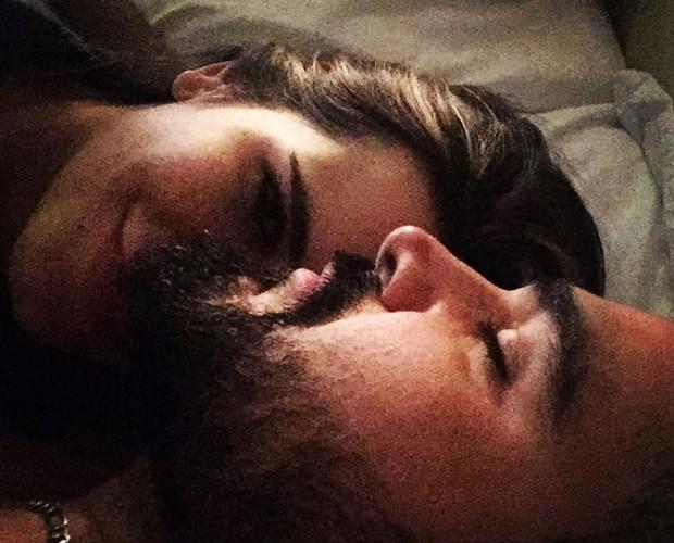 Luciano Camargo e a mulher, Flávia Fonseca (Foto: Reprodução/Instagram)