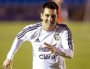 Messi treino Argentina (Foto: EFE)