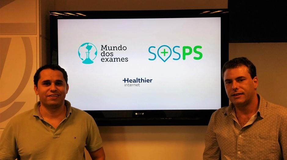 Eduardo Abramovici e Rafael Urbach, criadores do SOSPS (Foto: Divulgação)