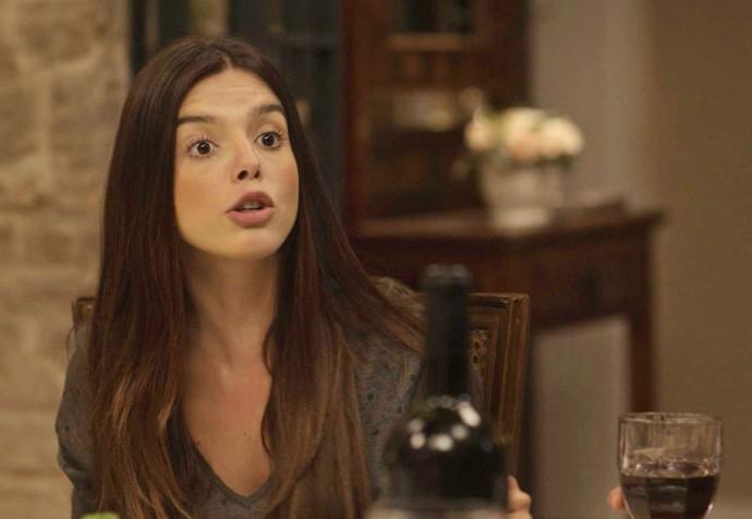 Milena desabafa e fala tudo o que pensa pra Vittorio (Foto: TV Globo)