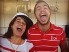 'BBB 16': Mãe de Matheus festeja romance com Cacau e o defende