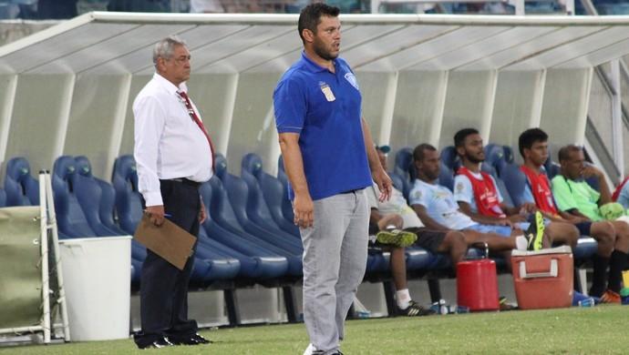 Treinador Giani Freitas, Dom Bosco (Foto: Olimpio Vasconcelos/Dom Bosco)