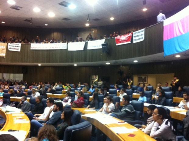 Comissão da Câmara de SP aprovou texto por unanimidade (Foto: Carolina Dantas/G1)