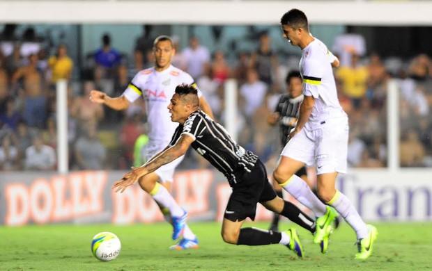 Santos x Corinthians - Guerrero (Foto: Marcos Ribolli)