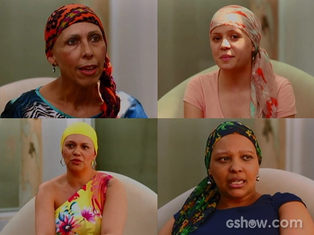 Ana Rita, Raquiele, Patrícia e Elisângela são transformadas pelo Caldeirão (Foto: TV Globo / Caldeirão do Huck)