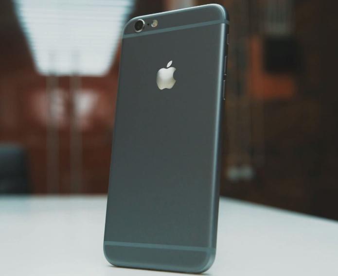 Traseira do suposto iPhone 6 (Foto: Reprodução/YouTube)
