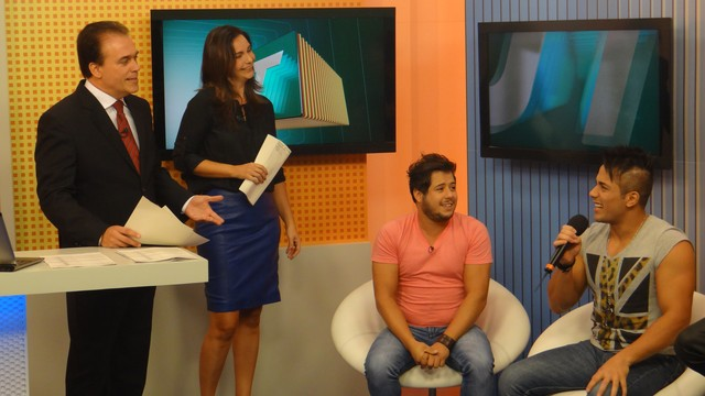 Os cantores se conheceram no programa Fama da Rede Globo (Foto: Priscila Marques)
