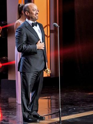 José Roberto Marinho recebe o Prêmio Mérito e Excelência (Foto: Globo)