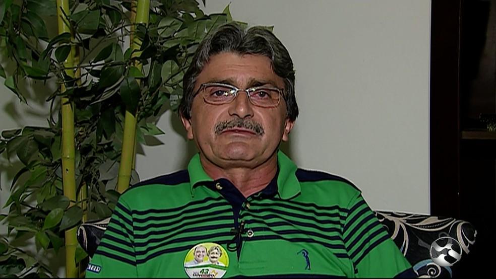 Gilvandro Estrela é o atual presidente da Câmara (Foto: Reprodução/Tv Asa Branca )