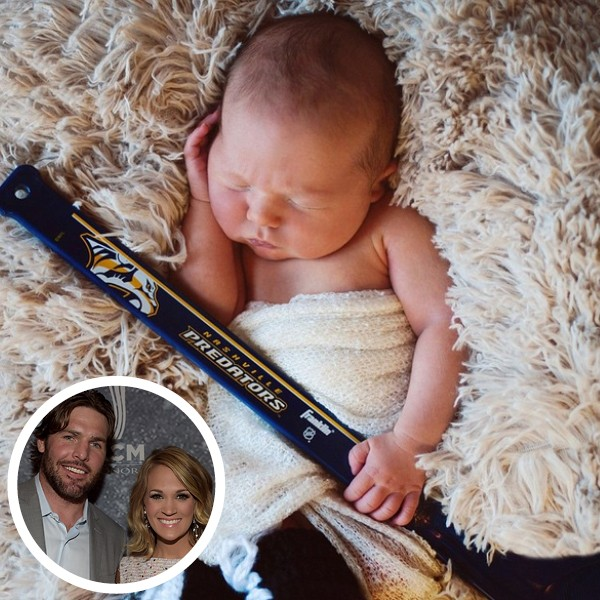 Filho de Carrie Underwood com Mike Fisher (Foto: Getty Images / Instagram)