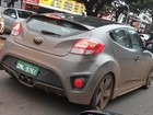Hyundai testa Veloster Turbo em Brasília