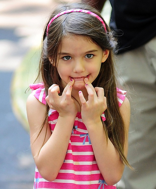 Suri Cruise (Foto: Splash News)