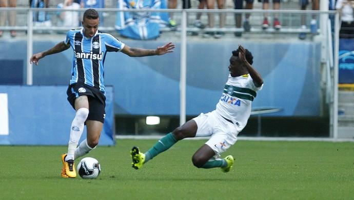 Luan Grêmio x Coritiba (Foto: Lucas Uebel/Divulgação Grêmio)