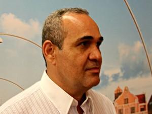 Rodson Gonzaga, supervisor de base da empresa em Manaus  (Foto: Sérgio Rodrigues/ G1 AM)