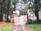 Após chuva, fornecimento de água e luz são normalizados em Santa Rosa