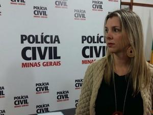 Delegada Ângela Fellet Polícia Civil Juiz de Fora (Foto: Polícia Civil/ Divulgação)