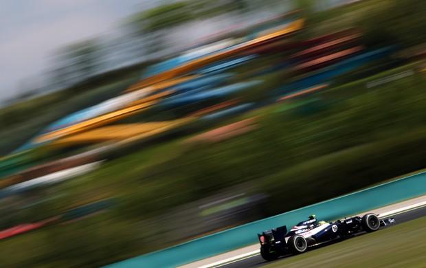 Bruno Senna - GP da Hungria (Foto: Divulgação)