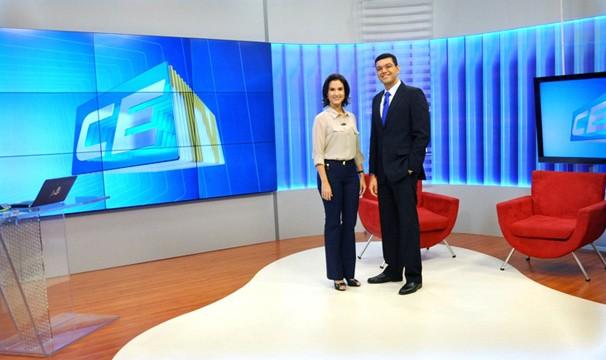 Telejornais ganham novo cenário. (Foto: Divulgação/TV Verdes Mares)