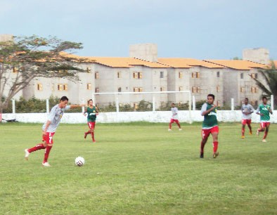 Sampaio está definido para jogo contra o Sabiá (Foto: Afonso Diniz/GloboEsporte.com)