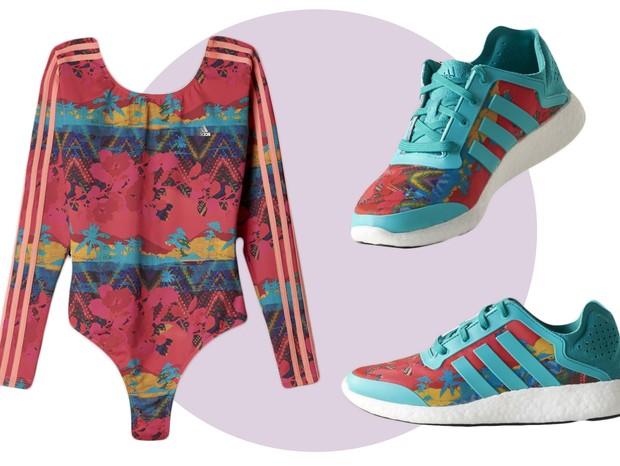 Lançamento coleção Adidas + Salinas (Foto: Reprodução)