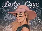 Lady Gaga sensualiza nos bastidores do Super Bowl