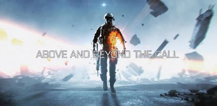 Propaganda de BF3 provocava a série Call of Duty (Foto: Reprodução/Youtube)