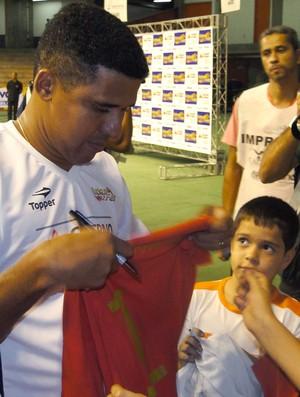 Manoel Tobias no Mineirinho (Foto: Fernando Martins / Globoesporte.com)