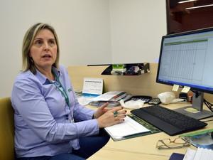 Gestora do Departamento de Economia do Sistema Famasul, Adriana Mascarenhas (Foto: Anderson Viegas/Do G1 MS)