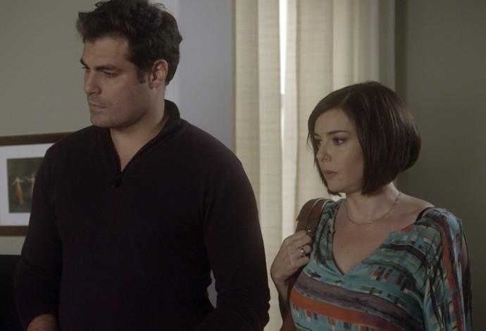 Ciro leva Beth para conhecer sua mãe (Foto: TV Globo)