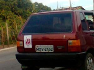 Fiat Uno de Manoel Teixeira ainda não foi encontrado (Foto: Amália Lima)