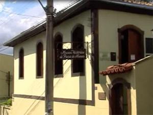 Museu de Pará de Minas está fechado há dois anos (Foto: Reprodução/TV Integração)