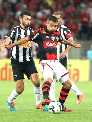 Datolo e Canteros, Flamengo X Atlético-mg (Foto: Marcos de Paula / Agência estado)