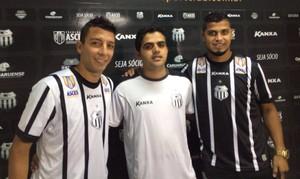 Danilo Cintra e Romário, central (Foto: Vital Florêncio / Assessoria Central)